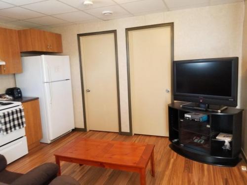 Maison et appartement de deux chambres